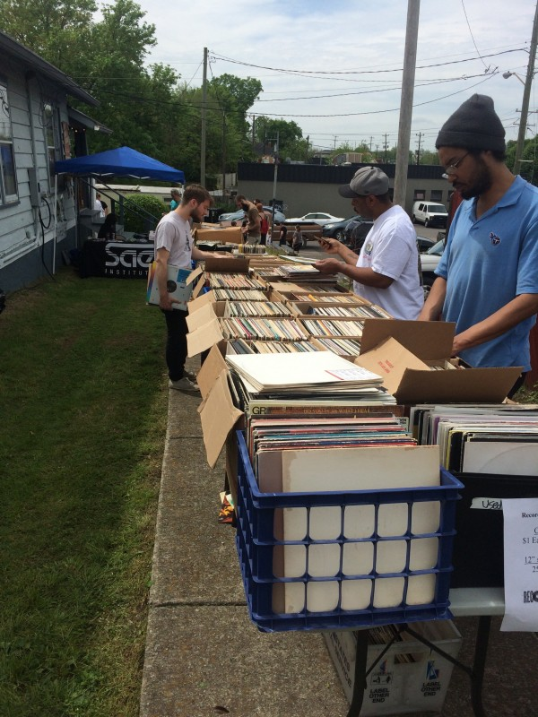 Some of the festivities included a sidewalk sale